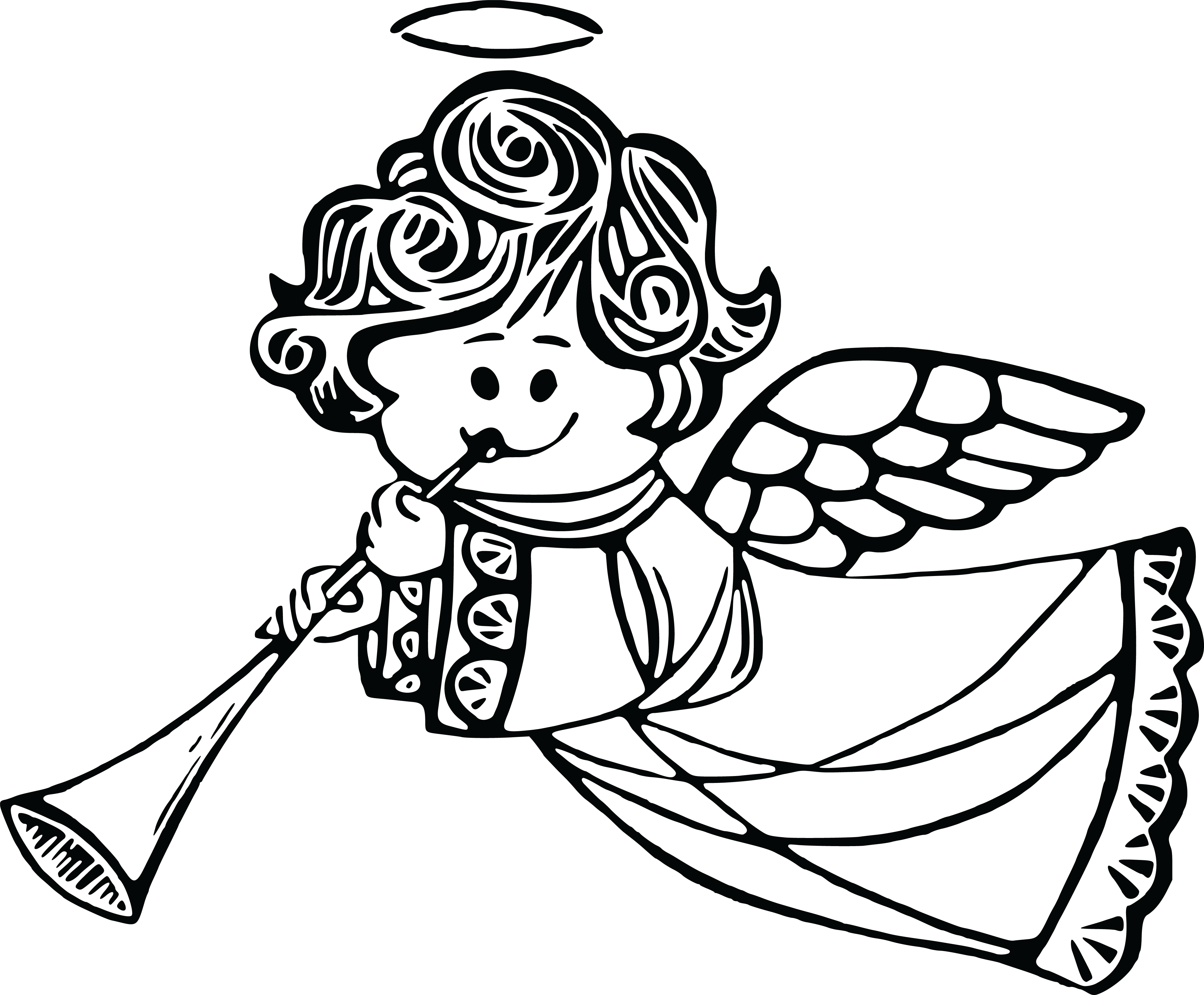 Clipart Angel Black And White Clipart Angel Black And White Transparent Free For Download On Webstockreview 2020