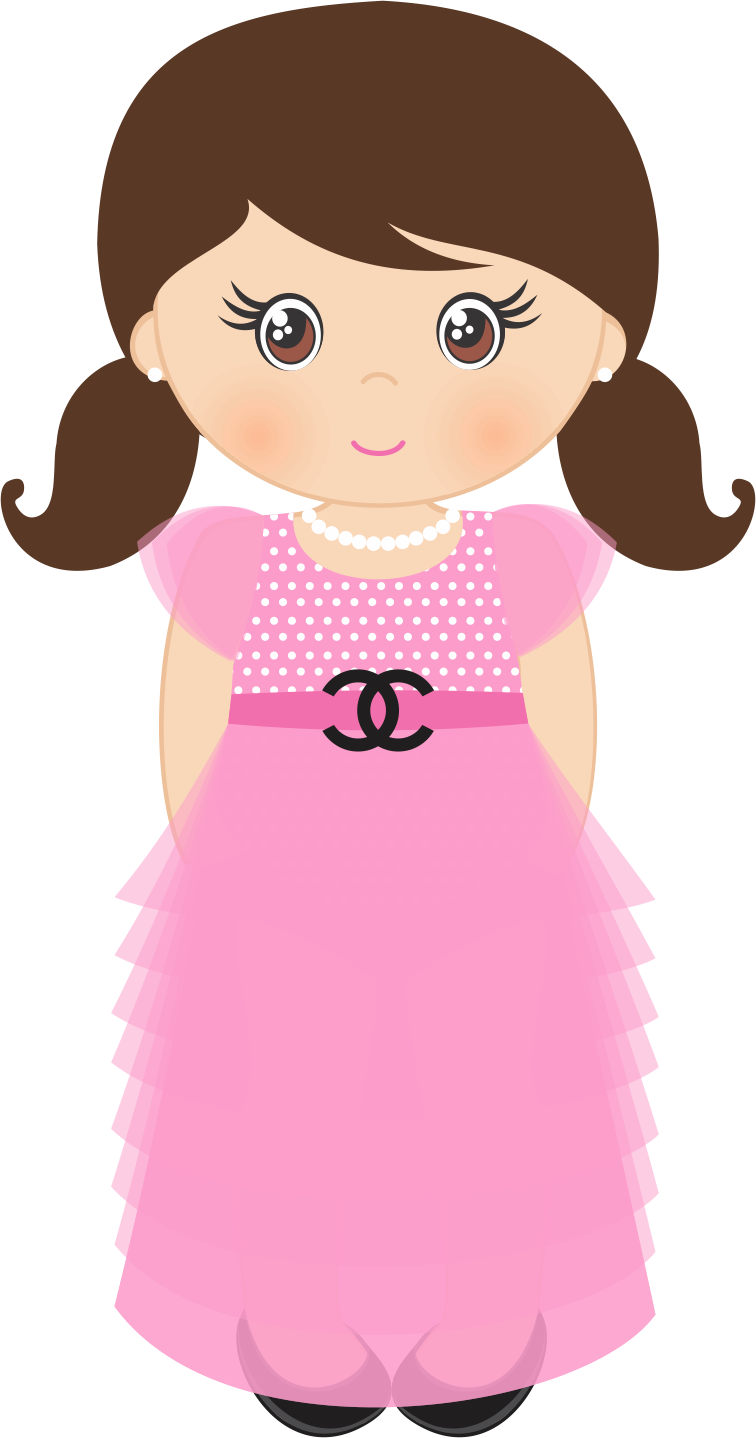 girl pinterest girls. Number 3 clipart girly