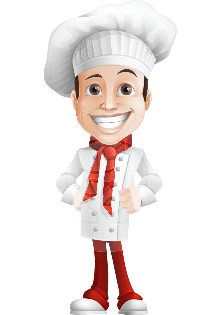 Cooking lady chef