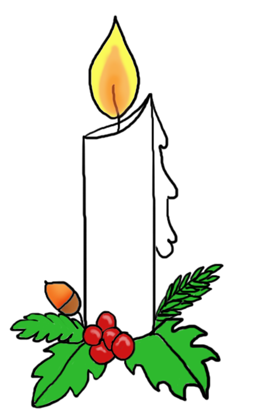 Candle at getdrawings com. Advent clipart service
