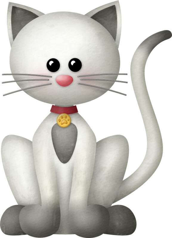 Clipart balloon cat.  animales pinterest clip