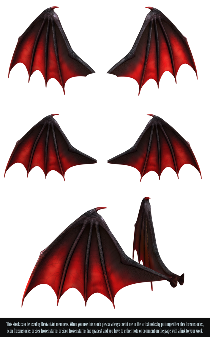 Demon wings png by. Devil clipart red suit