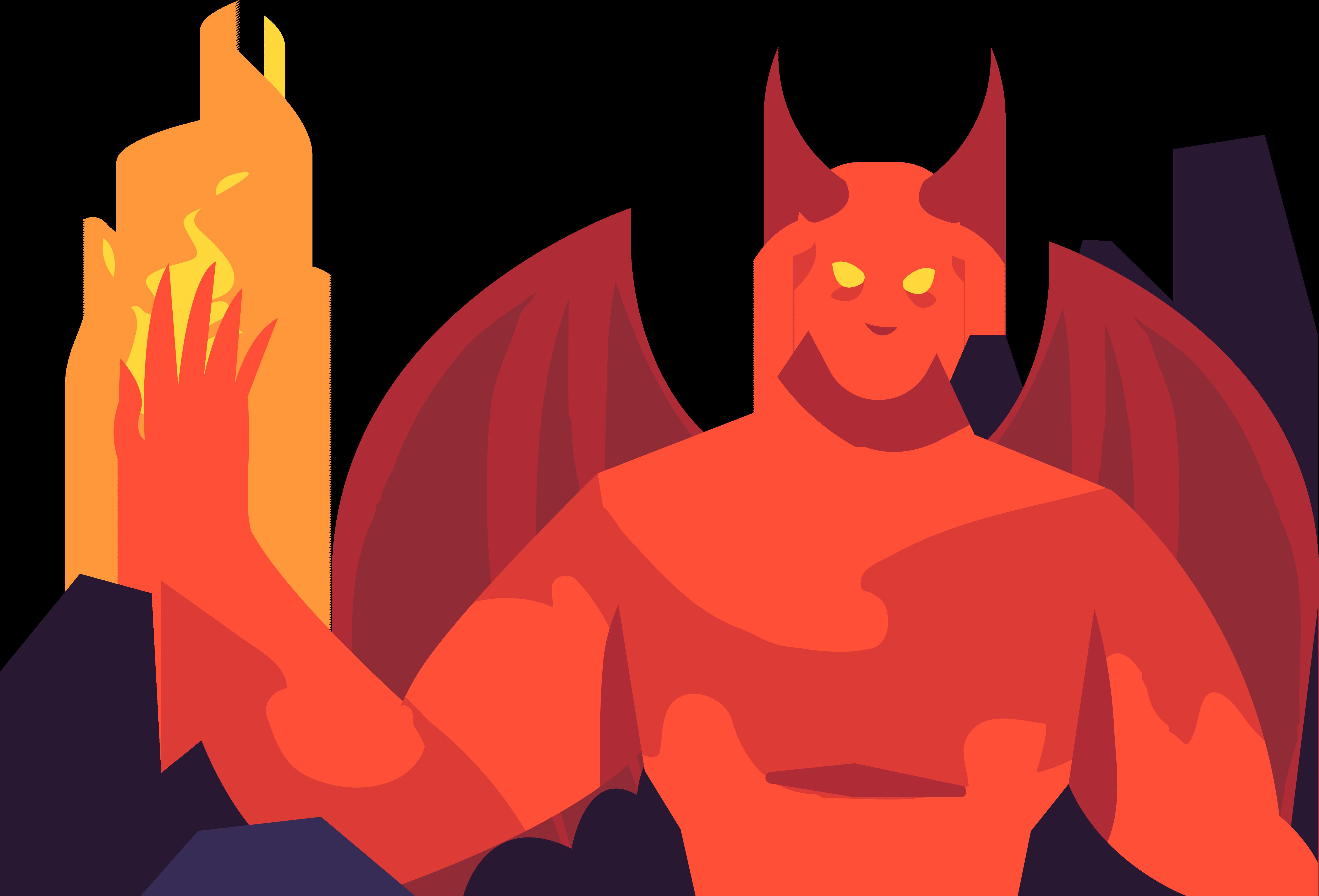 Horn clipart real devil. Demon clip art horrible