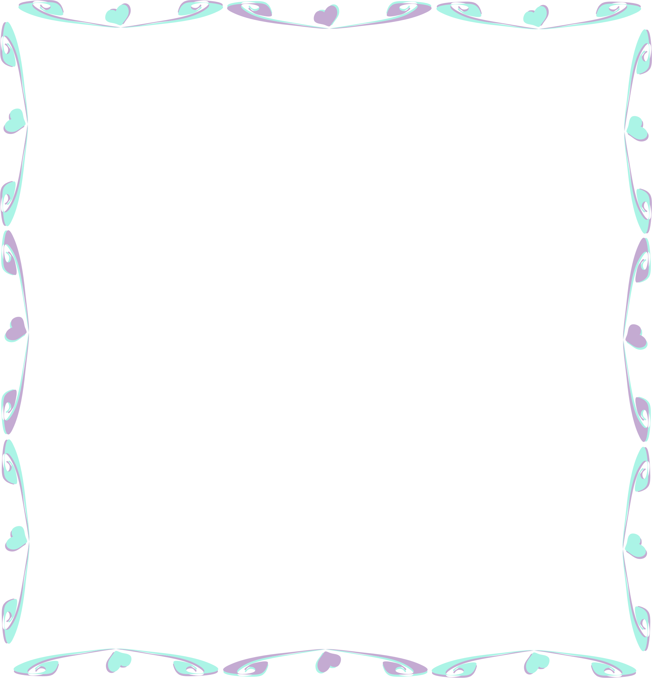 Divider icons png free. Frame clipart colorful