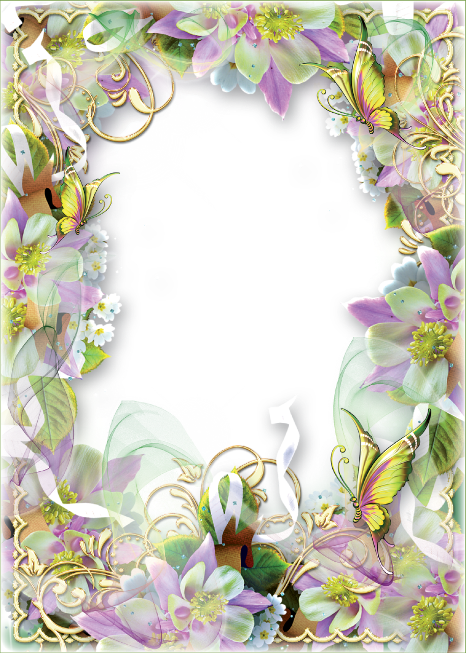 Mailbox clipart spring. Photo frame flowers and
