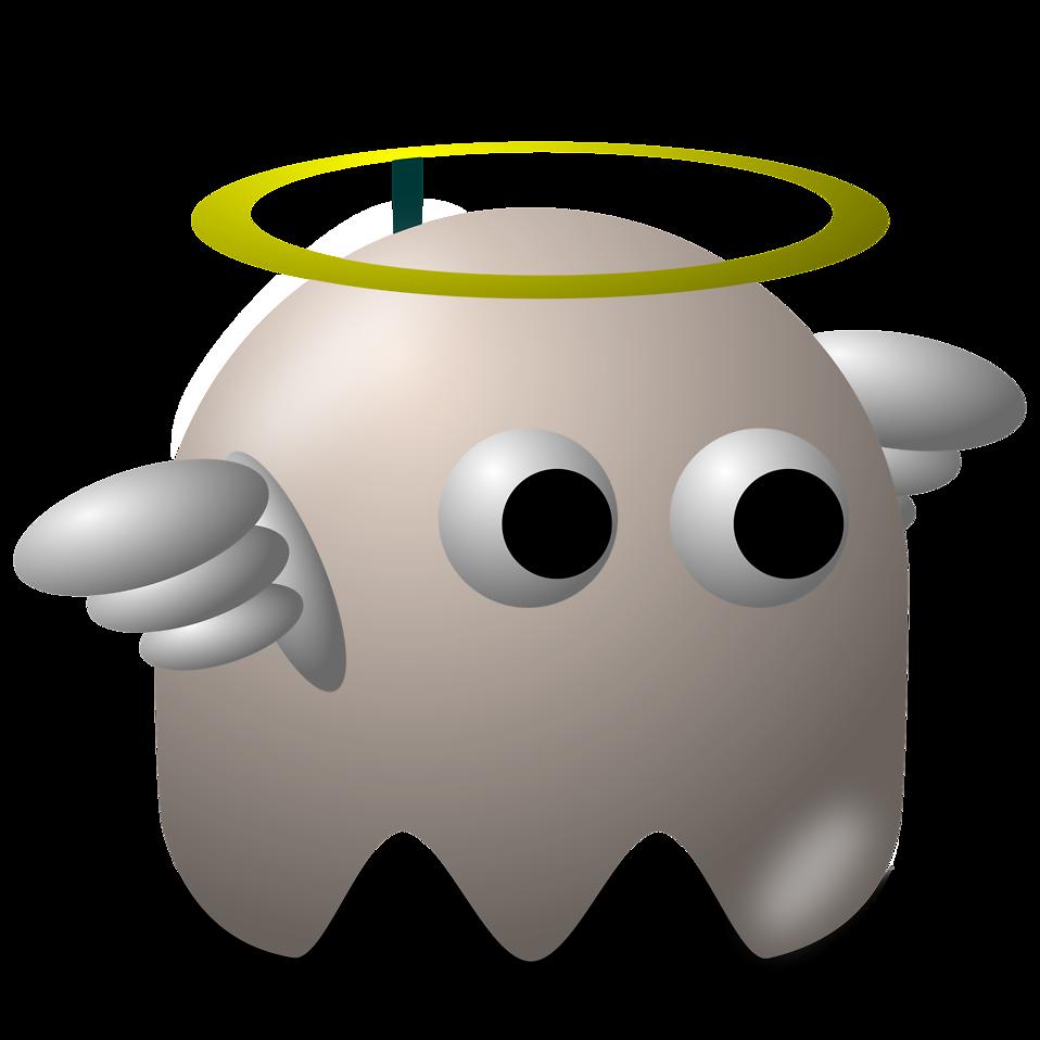 Clipart man ghost. Free stock photo illustration
