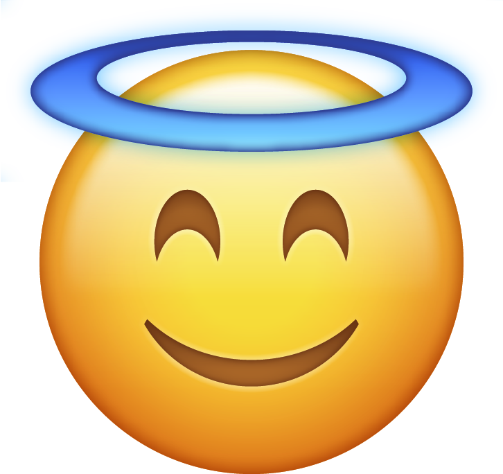 Lizard clipart emoji. Download angel halo iphone
