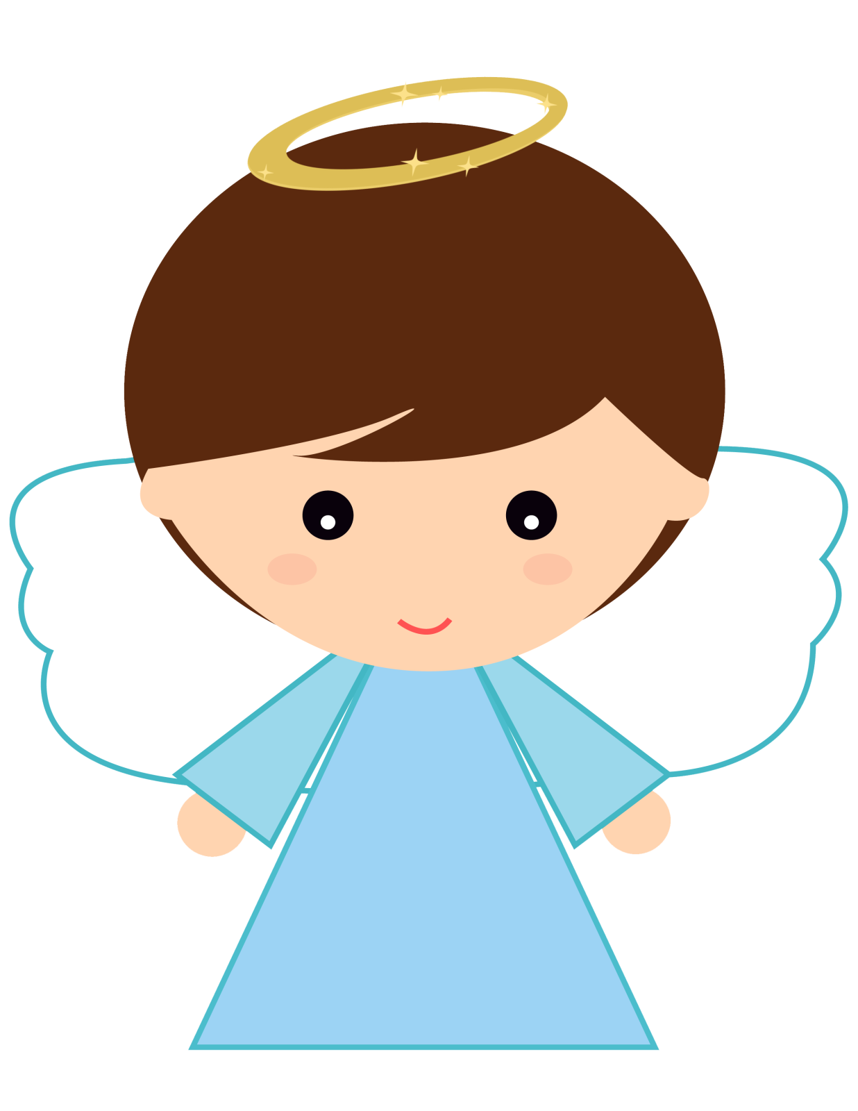 la casita de. Kid clipart angel