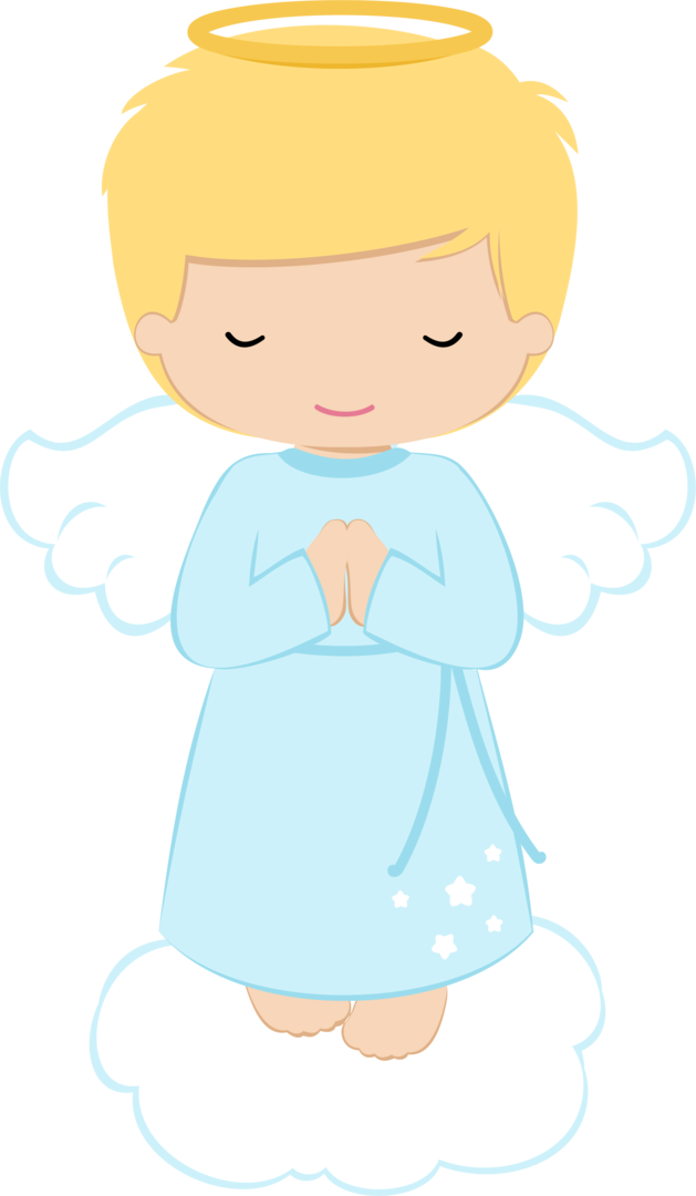 Angel kid. Clipart transparent free for