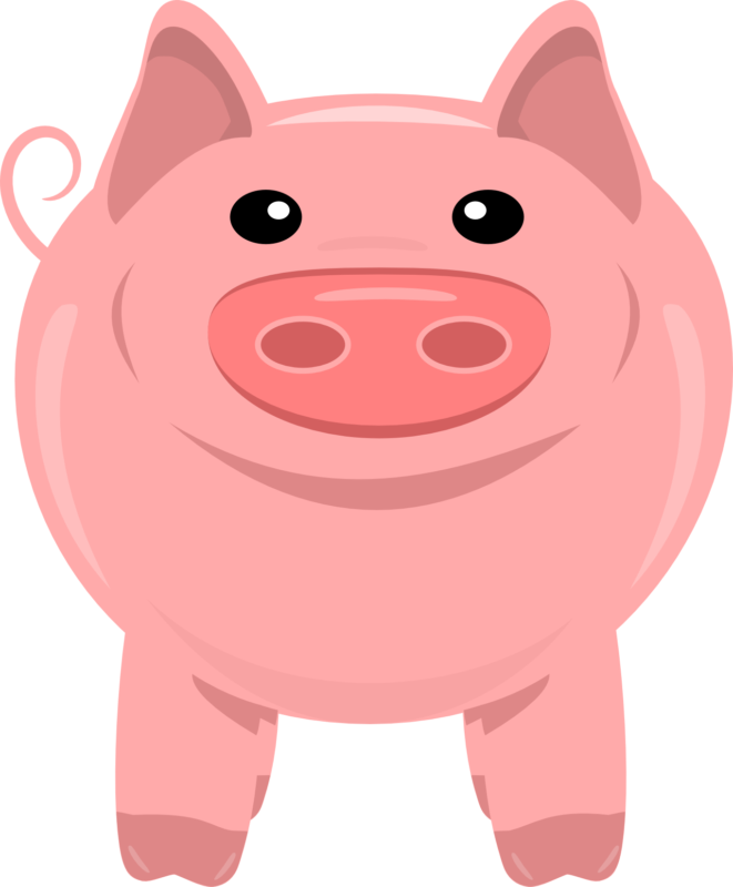 Clipart swimming pig. New free images photos