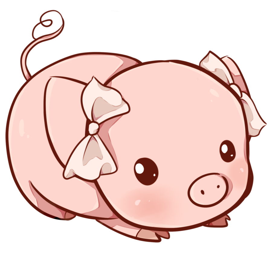 Cerdito art pi ms. Youtube clipart kawaii