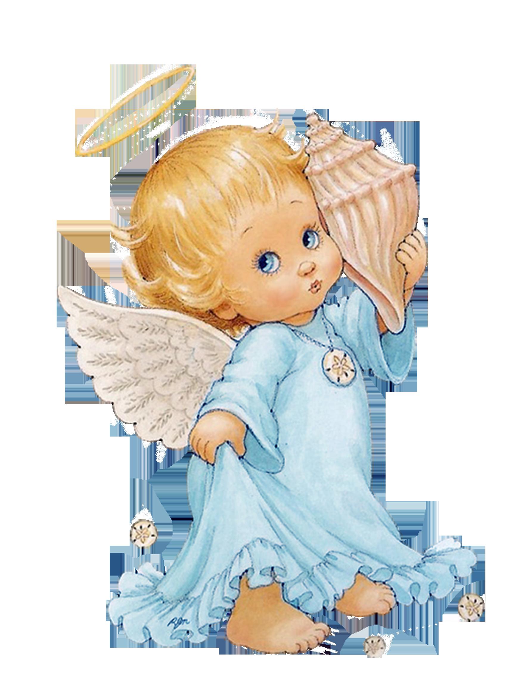 Angelitos bebe im genes. Moving clipart angel
