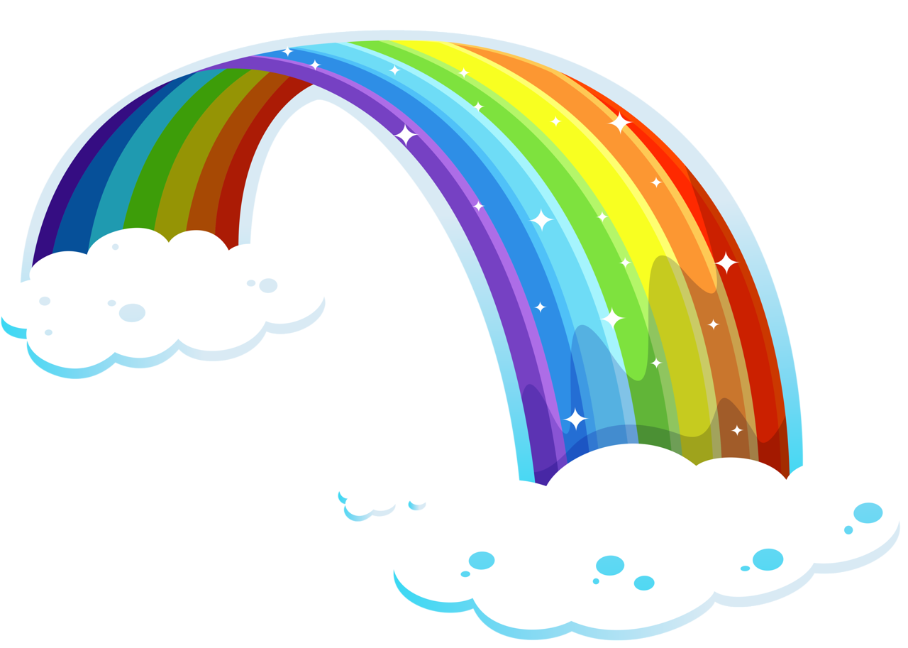 png pinterest rainbows. Clipart elephant rainbow