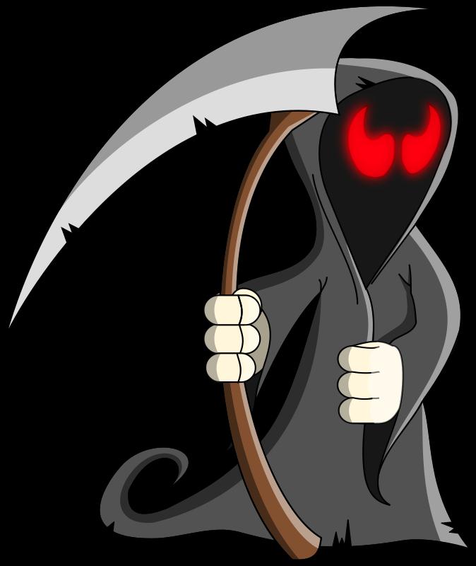 Clipart door creepy. Skeleton animations free halloween
