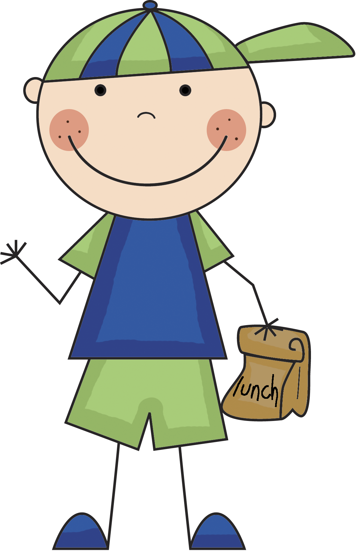 Quilt clipart household. Boy lunch png clip