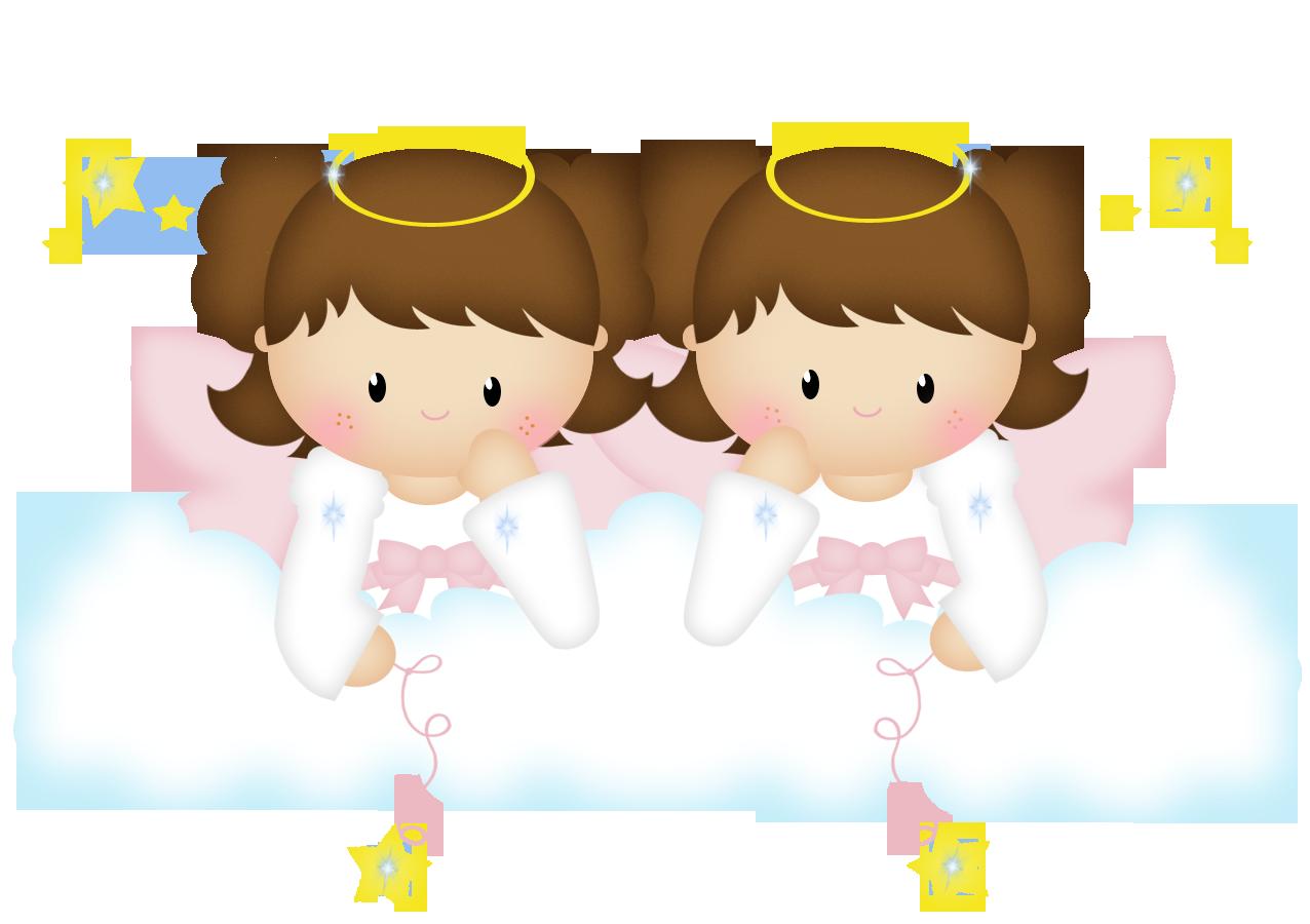 Journal clipart illustration. Fadas anjos gnomos e