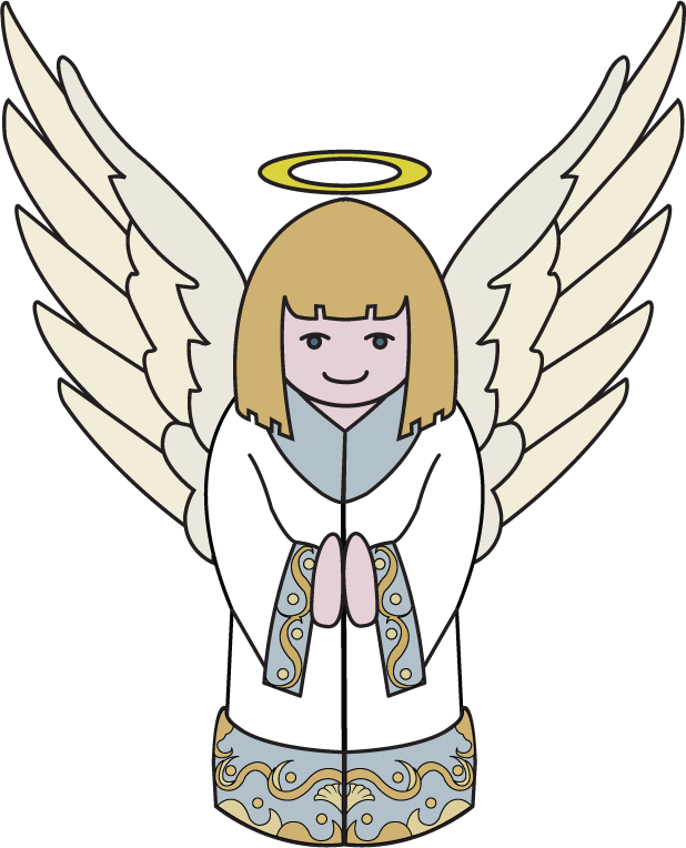 collection of christmas. Moving clipart angel