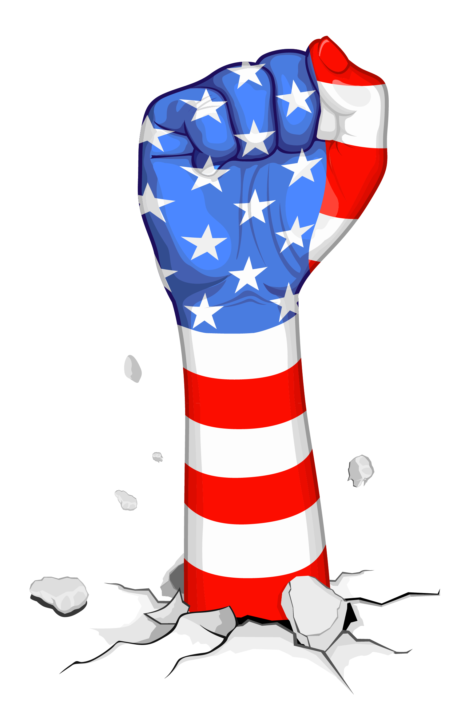 th of july. Flags clipart halloween