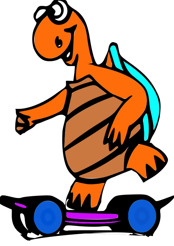 Free turtle and animations. Moving clipart cookie
