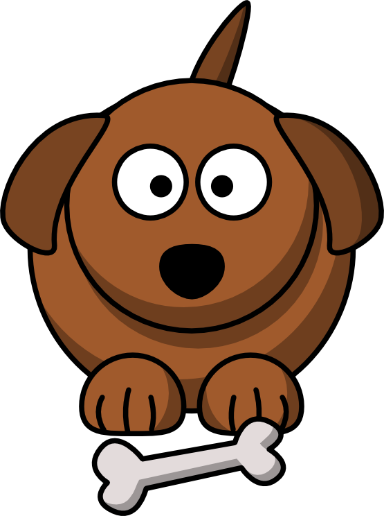 Clip art dog animal. Dig clipart cartoon