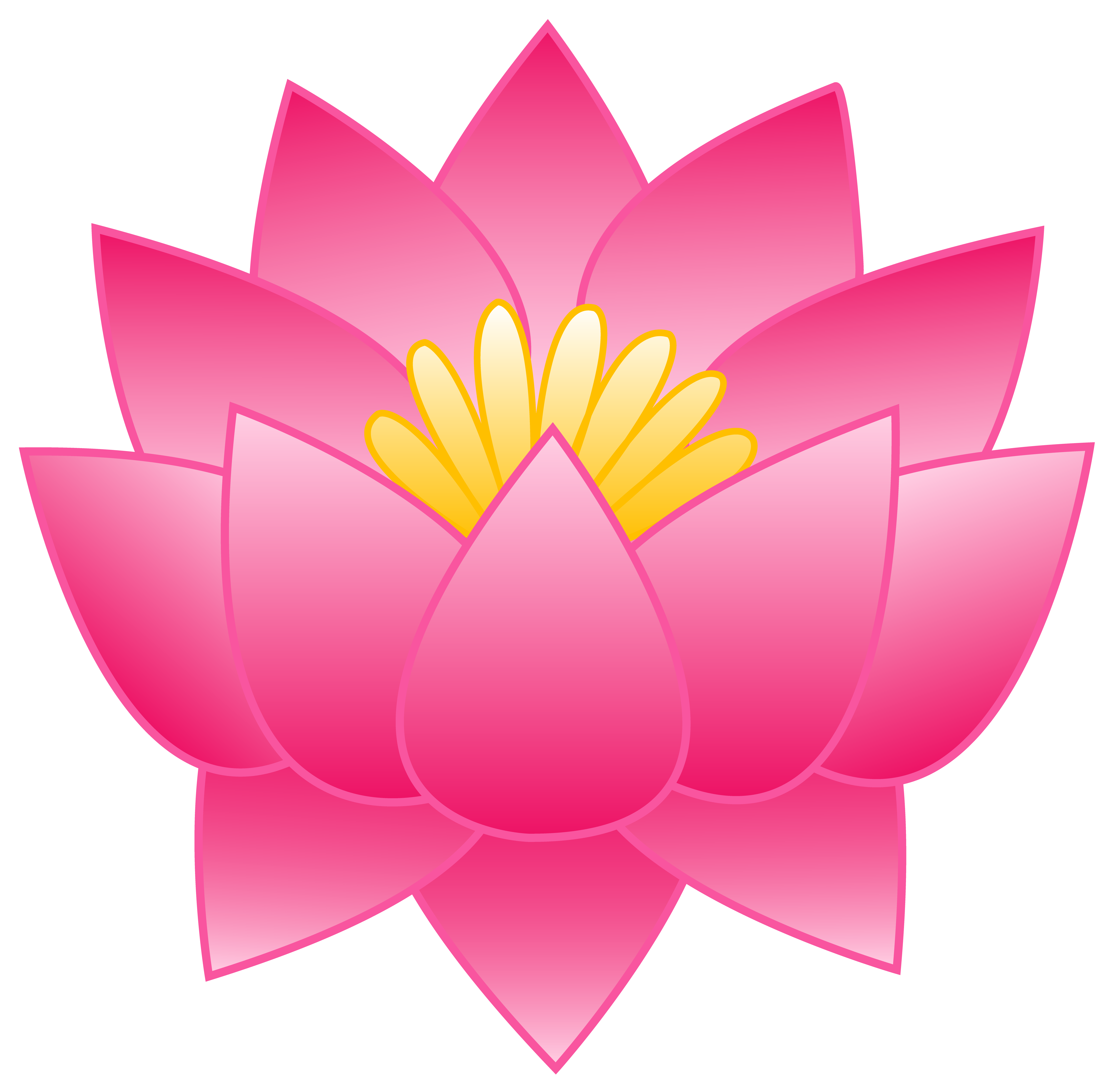 Lotus flower graphic png. Aquatic clipart at getdrawings