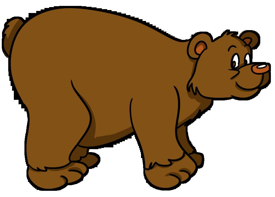 Cute clip art animals. Free clipart bear