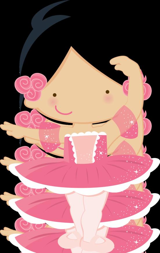 Doll clipart ballet. Ni o bonito animado