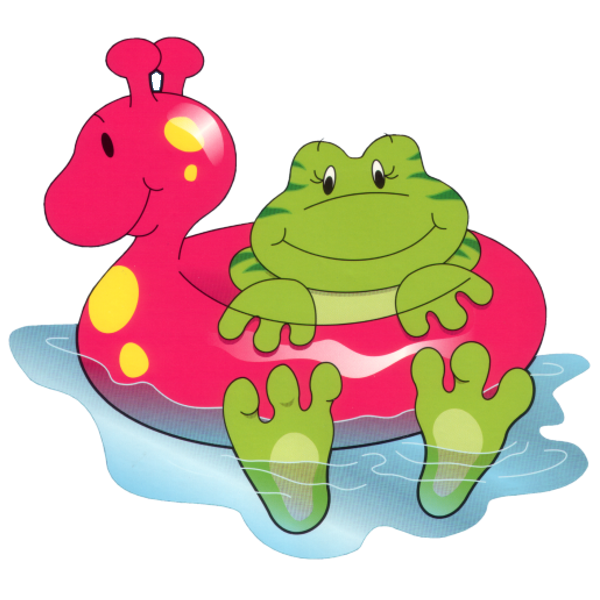 Funny frog cartoon animal. Future clipart animated