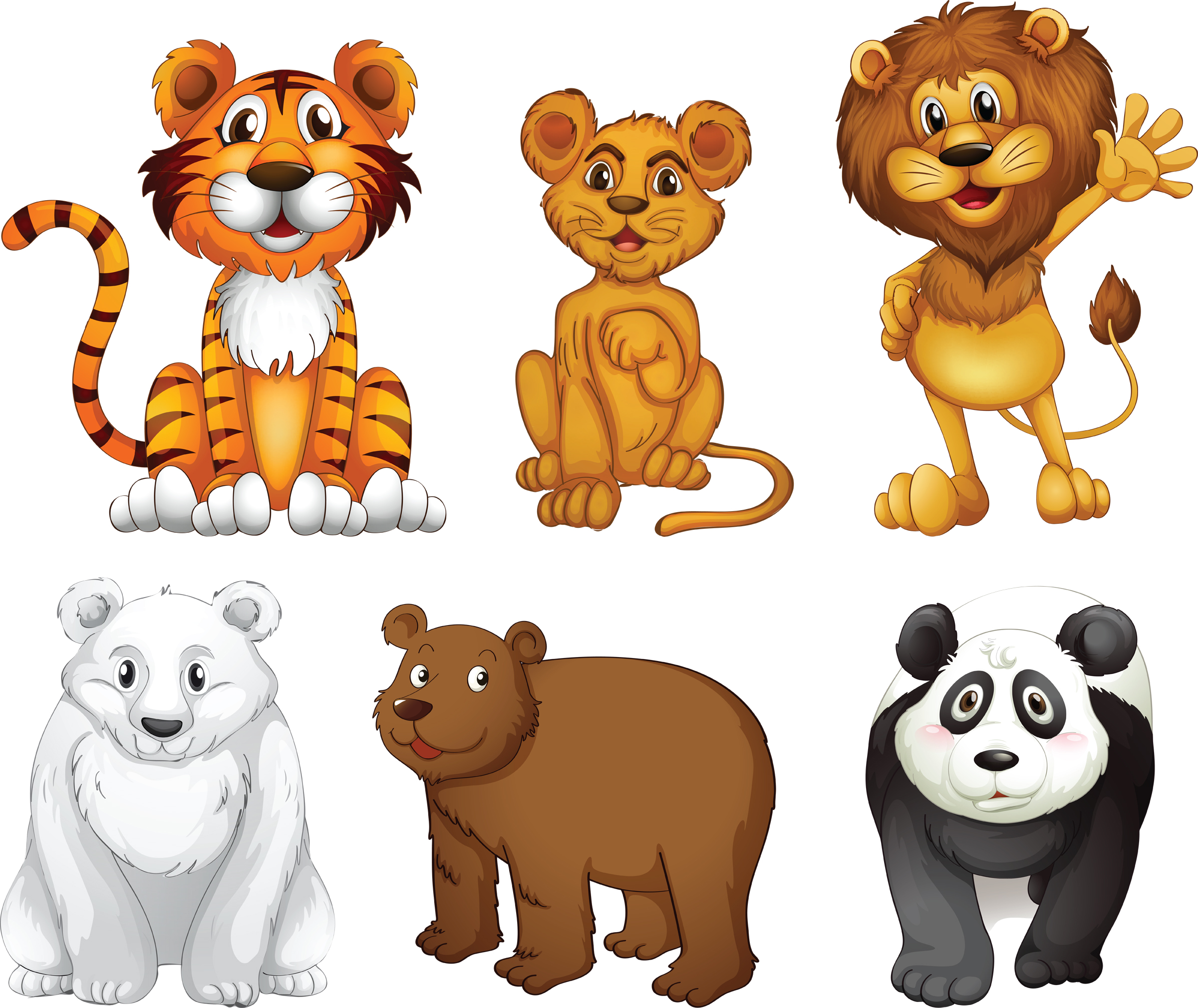 Jungle theme day shac. Clipart animals camp