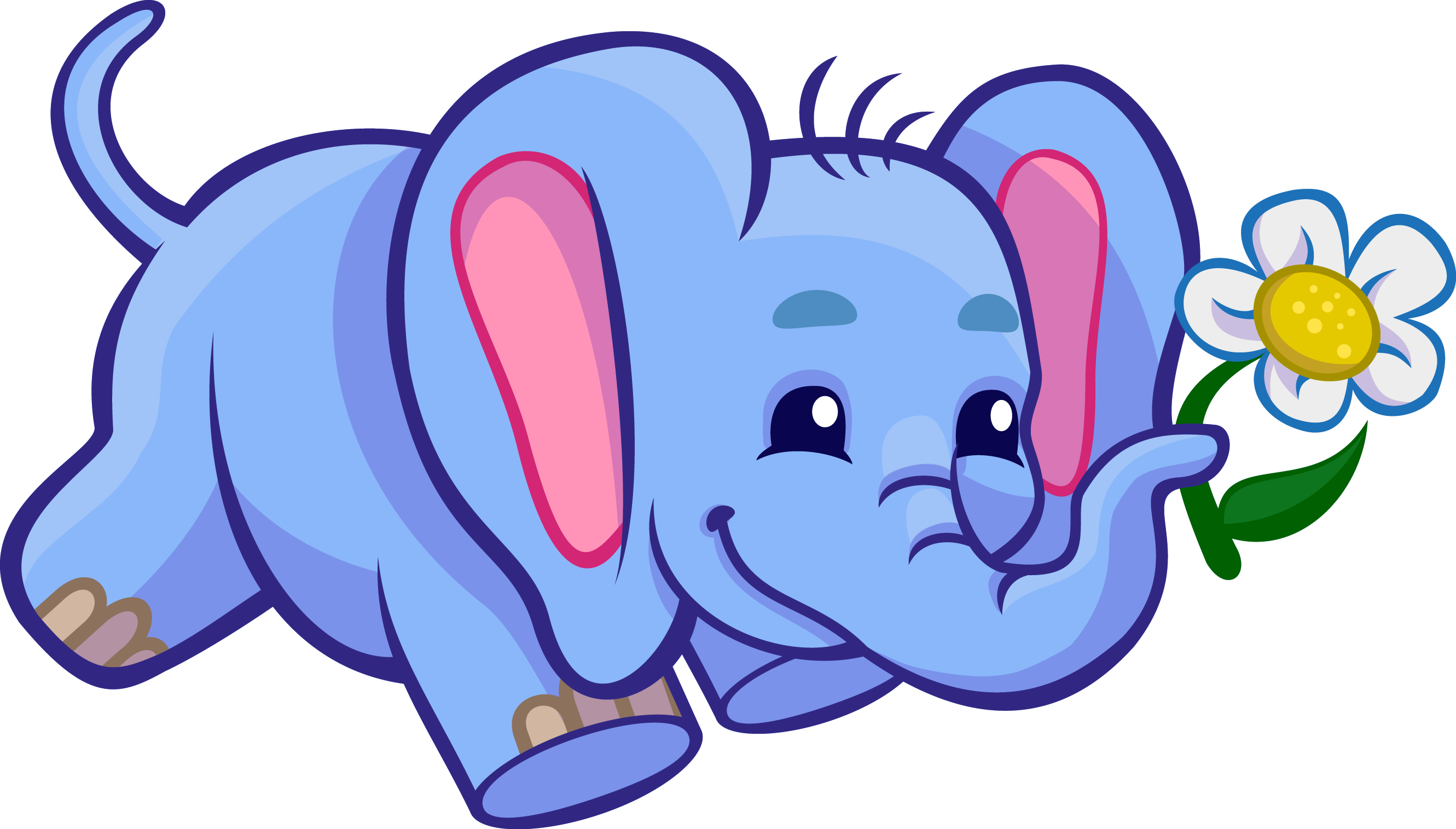 Free zoo at getdrawings. Clipart swimming elephant