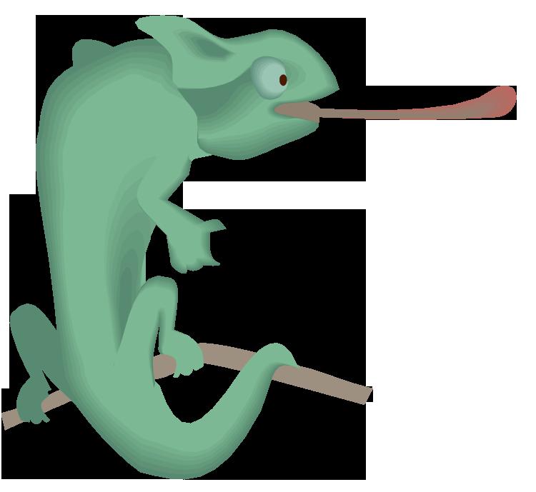 Free lizard. Gecko clipart face