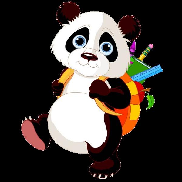 Environment clipart animal. Panda bears cartoon images