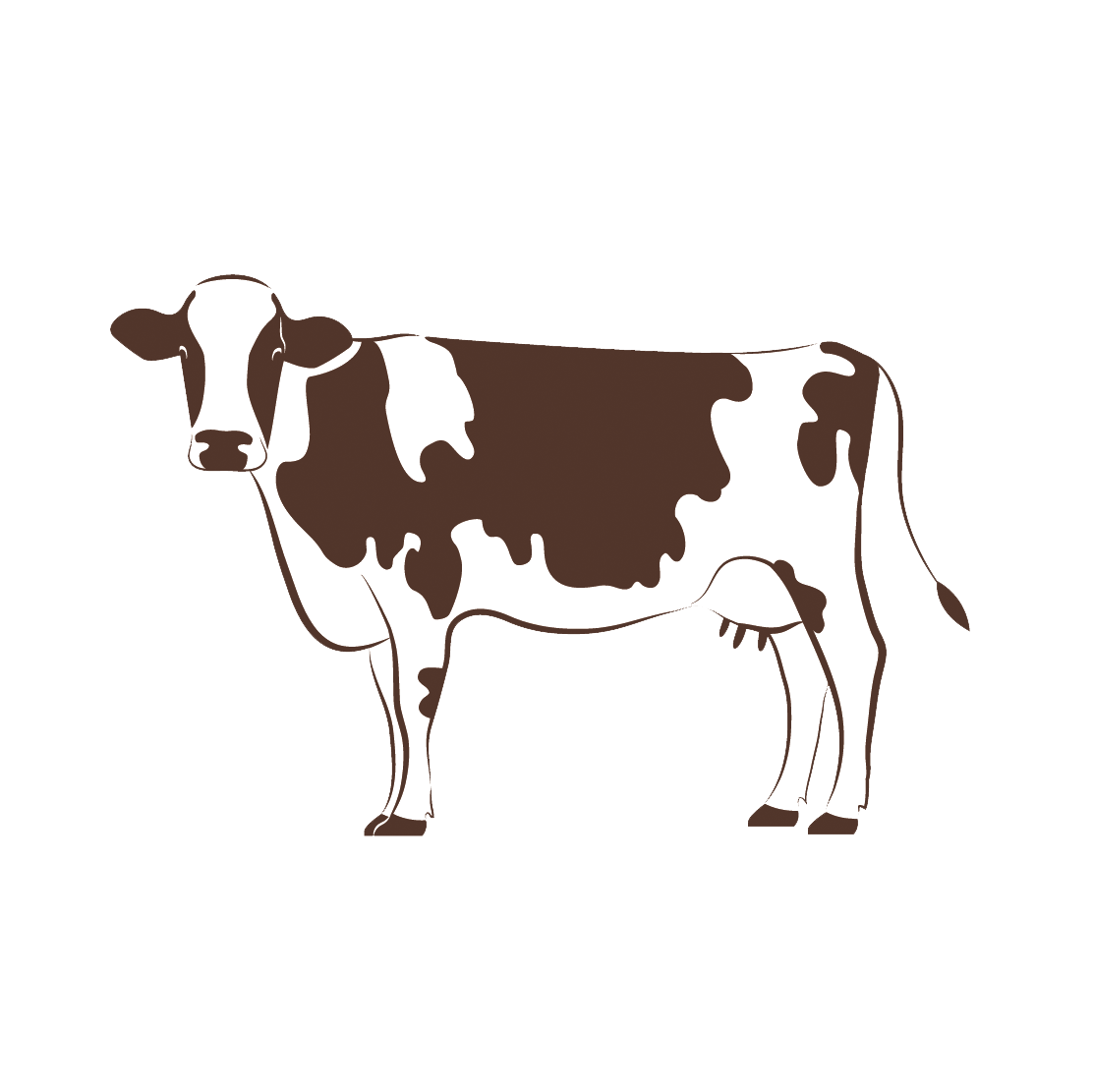Clipart cow face. Free download png forty