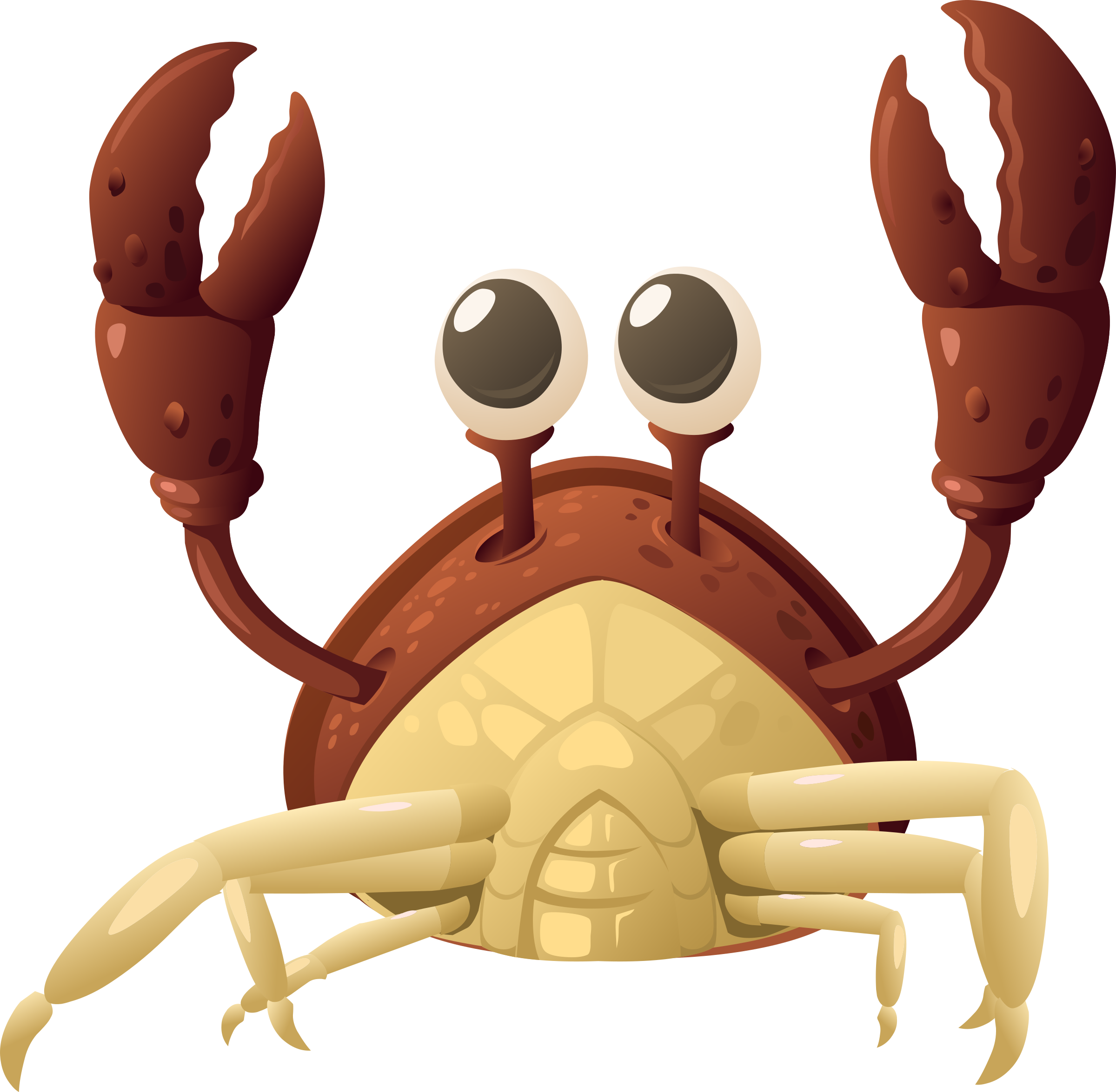 Crabs clipart crab claw. Inhabitants npc by glitch