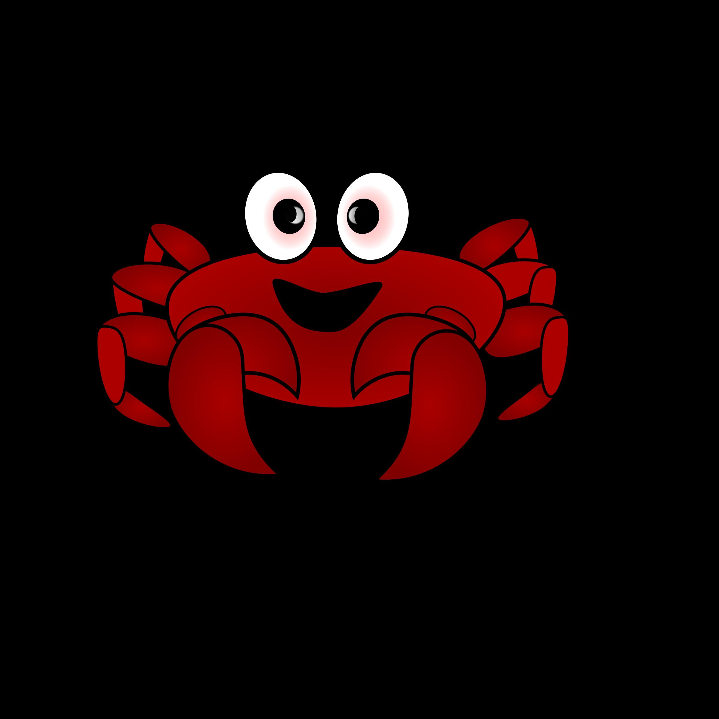Coloring clipart crab. Cartoon big image png