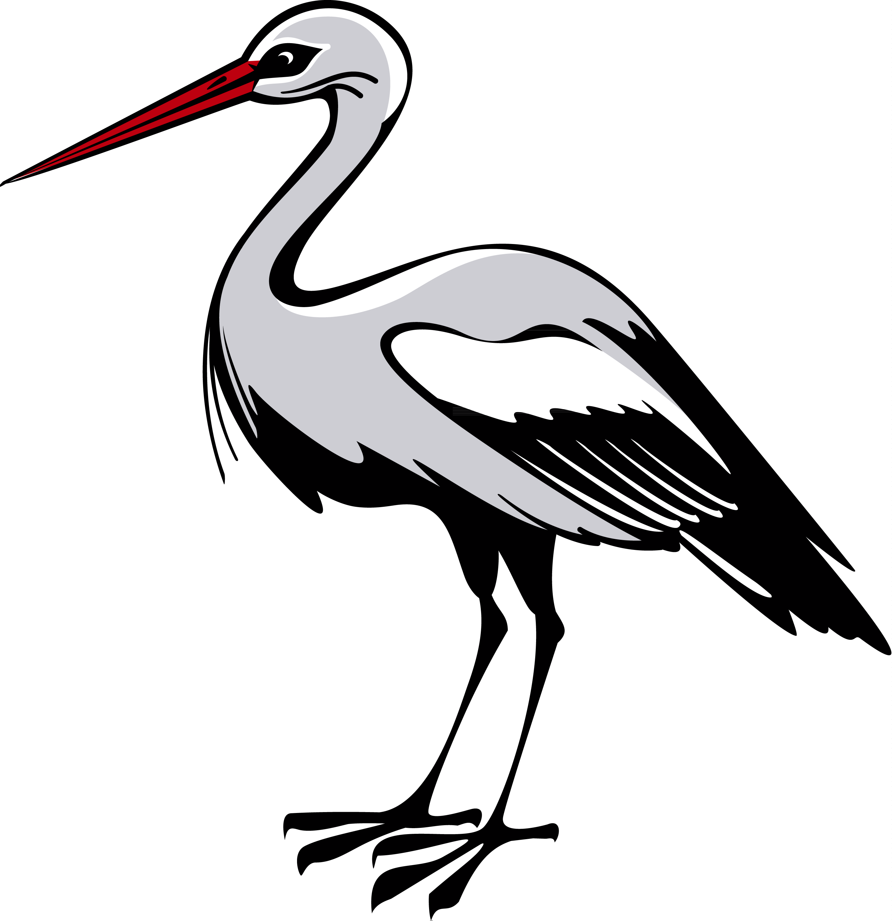 Png web icons best. Stork clipart heron