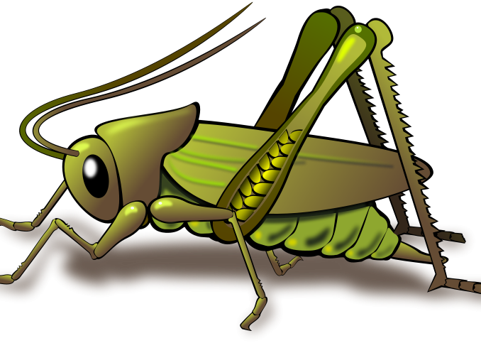 insect clipart angry