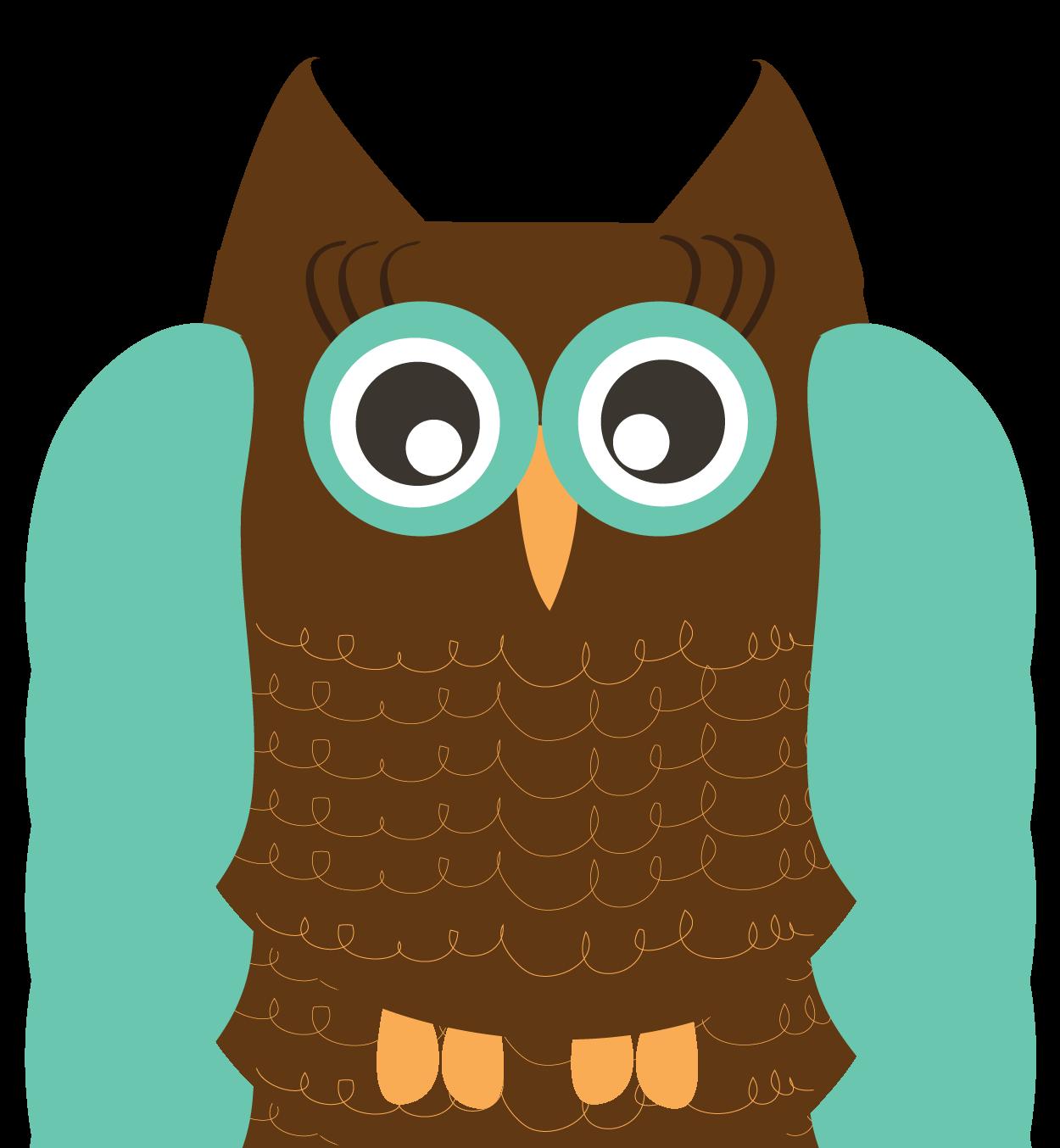 Free clip art animals. Woodland clipart owl