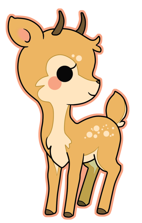 Youtube clipart kawaii. Deer google search pinterest