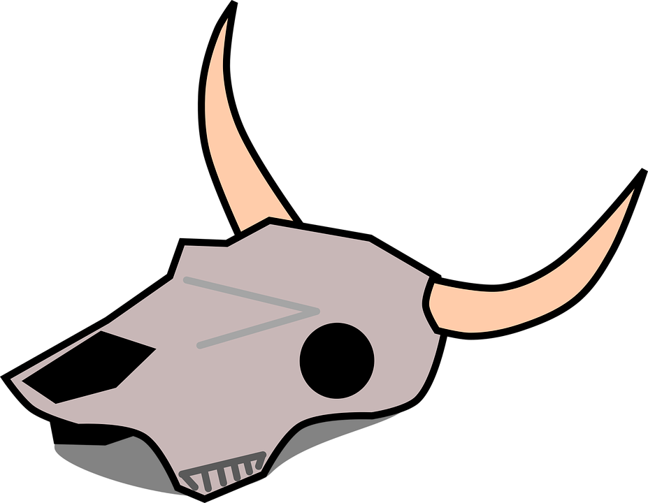 Longhorn clipart head. Skull free at getdrawings