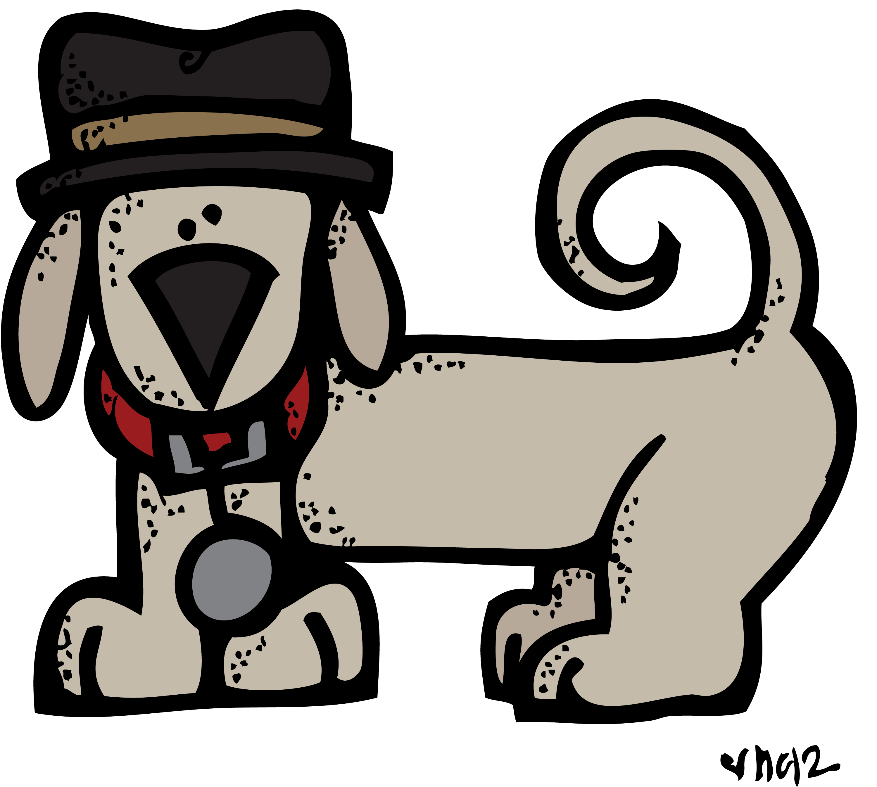 Detective google search pinterest. Pet clipart melonheadz