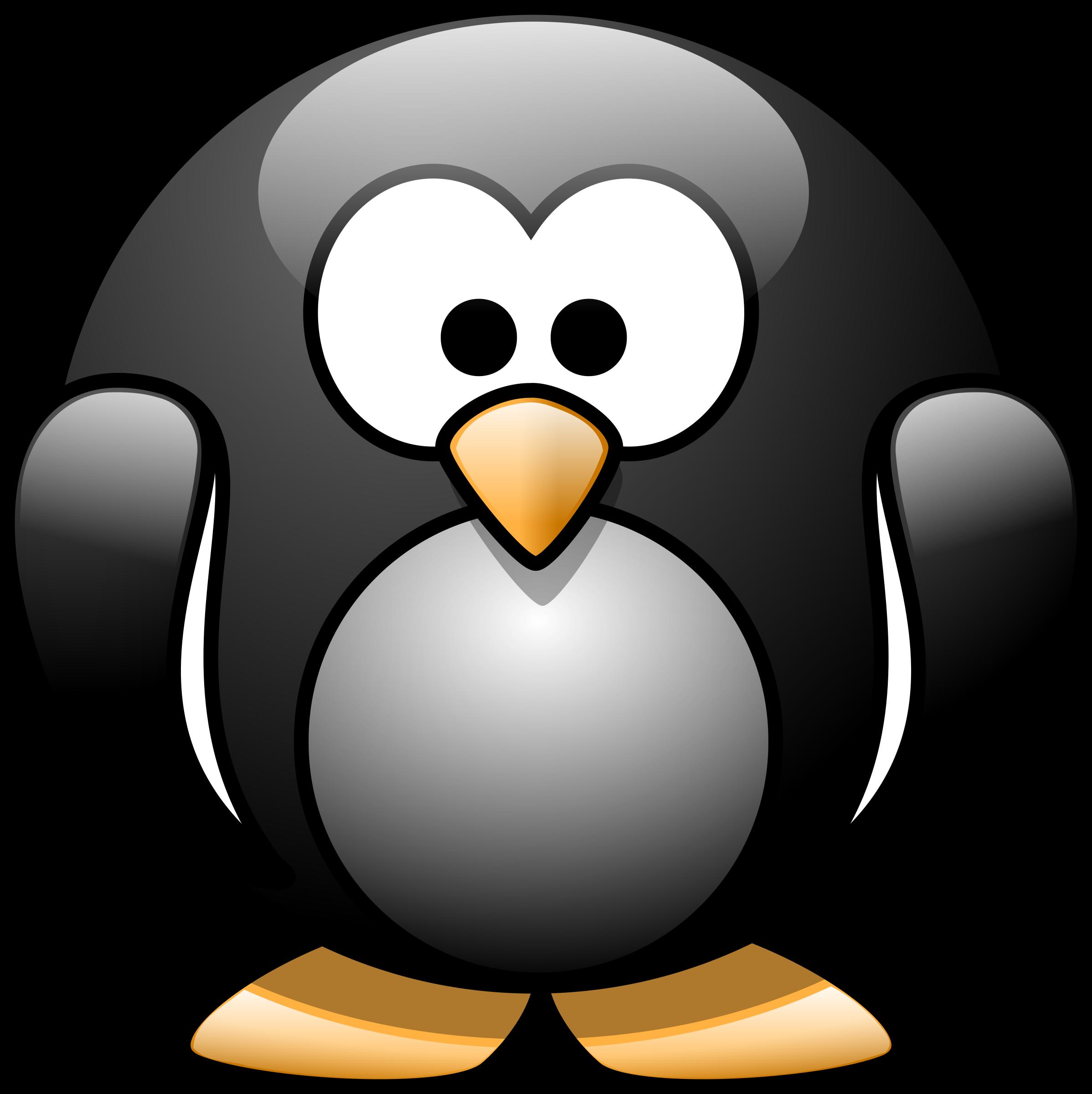 Number 1 clipart 1cartoon. Cartoon penguin big image