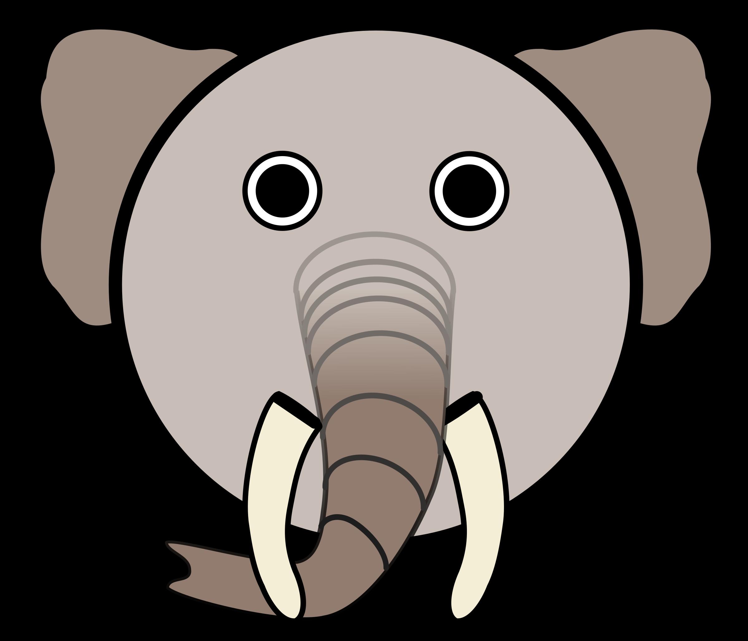 Picture clipart elephant.