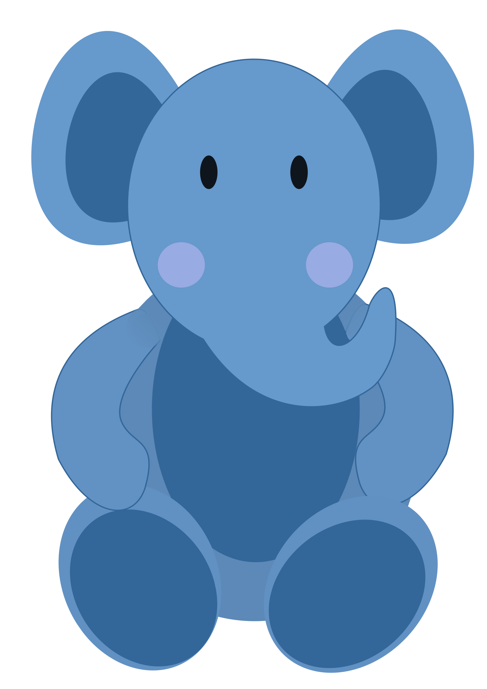 Face clipart baby elephant. By cgillis images illustrations