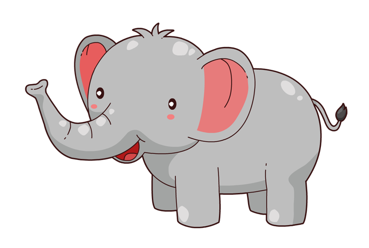 Horn clipart elephant. Image of head free