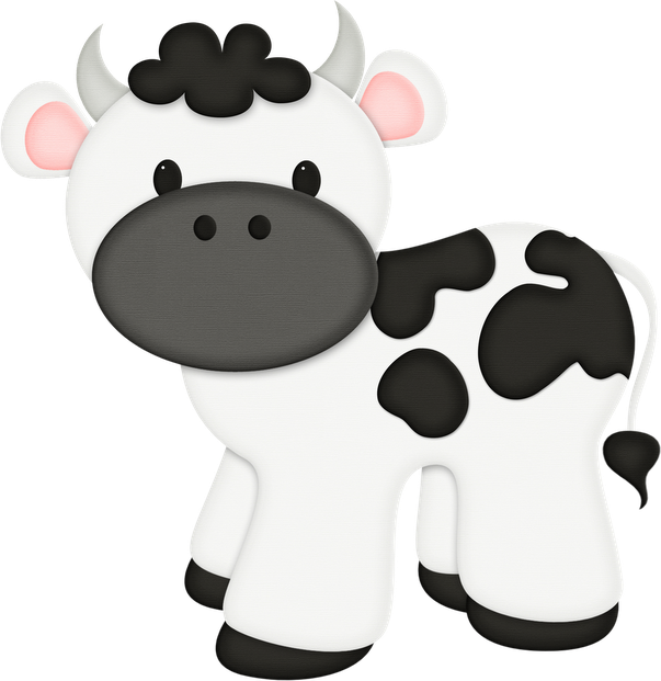 Farm clipart dairy farm. Kit festa pronta vaquinha