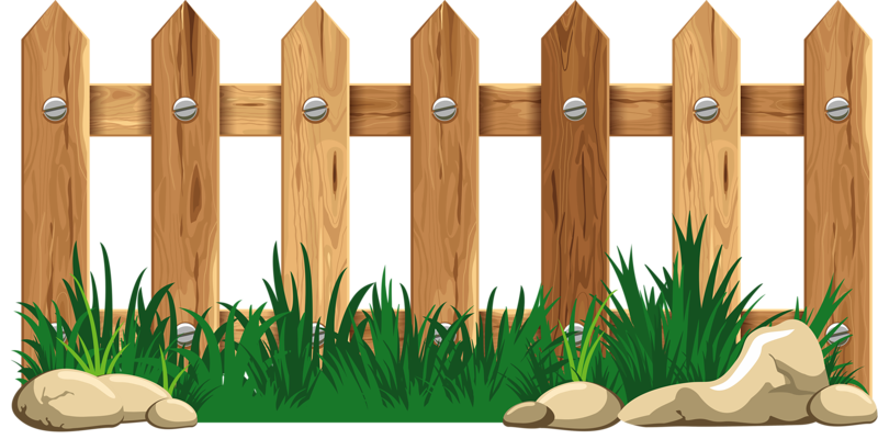 Fence clipart garden fence.  png pinterest clip