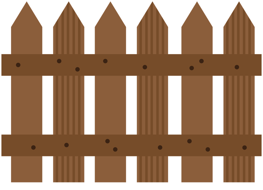 Fencing clipart brown fence. Fazenda minus farm pinterest