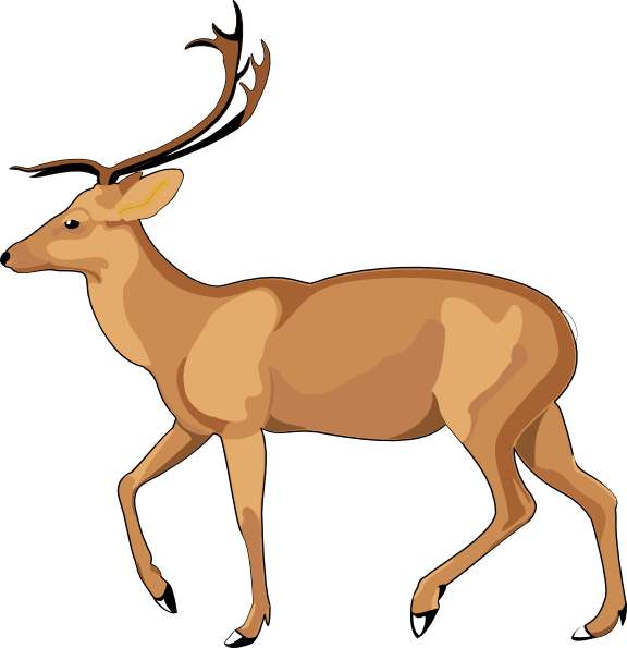 Deer clipart cute.  collection of gazelle