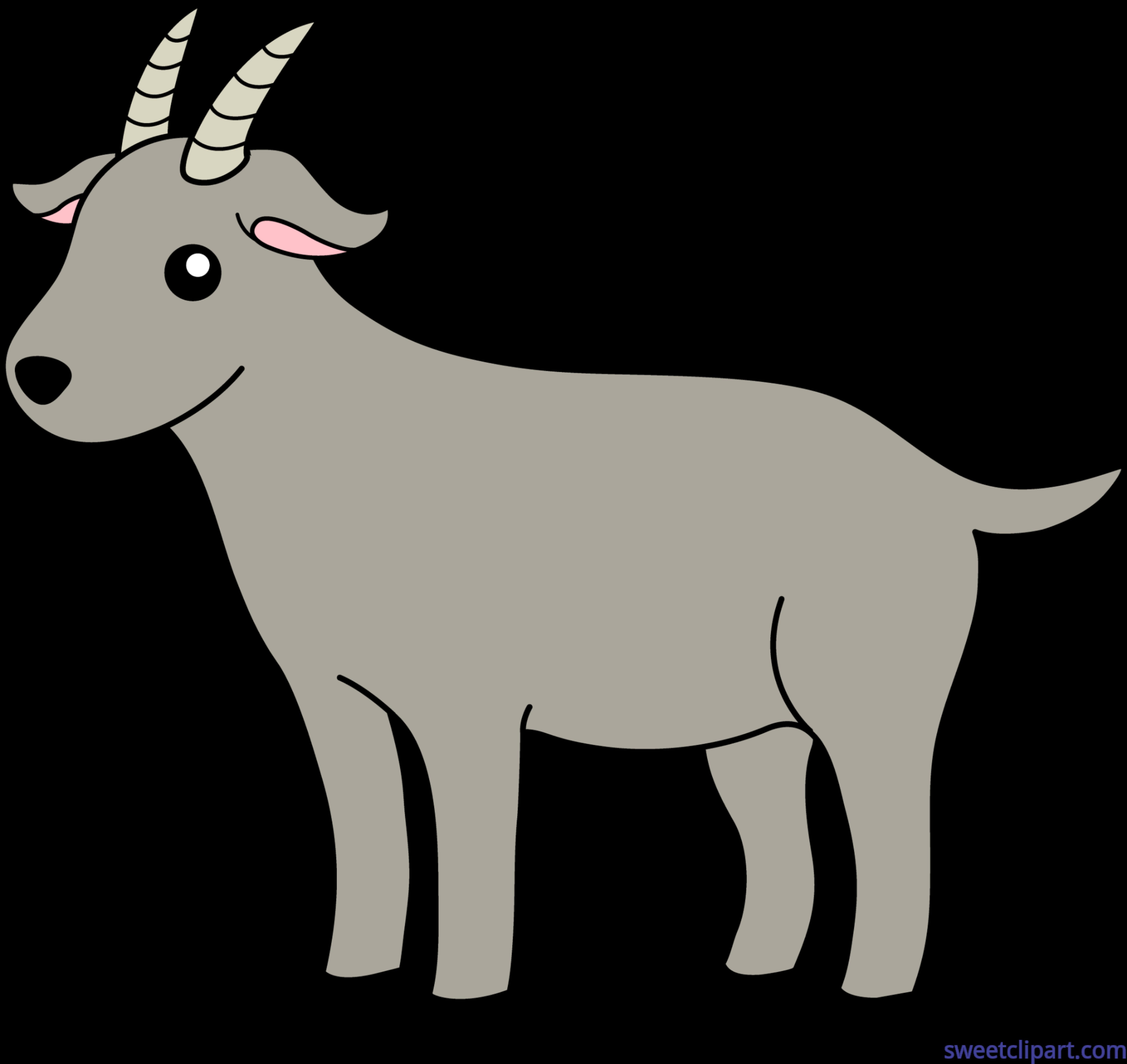 Goat clipart carton. Clip art sweet